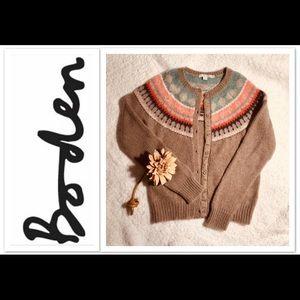BODEN Cardigan Sweater sz S
